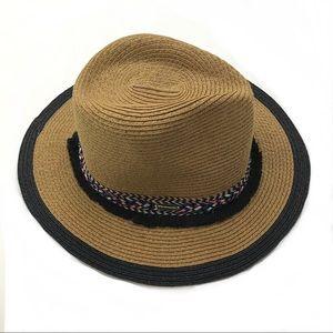 2394e5f0de49c Steve Madden Panama Hat Braided Straw Rancher Boho